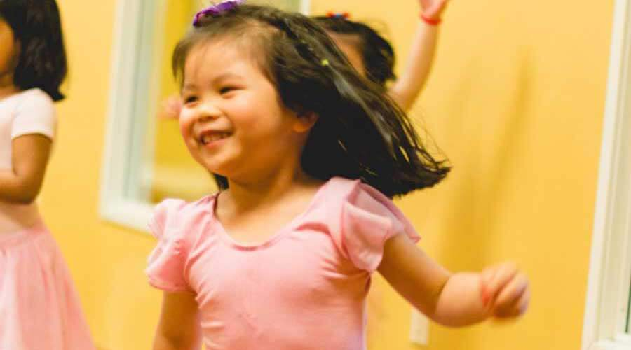 Happy Little Dancers In Ms. Wendy's Let's Dance! Specialty Camp
