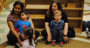 Mother's Tea – Infant and Toddler Classes