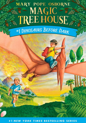 Magic Treehouse - book cover
