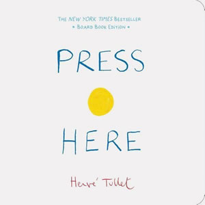 Press Here - book cover