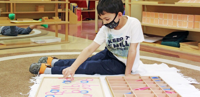 Online vs. In-Person Learning Montessori